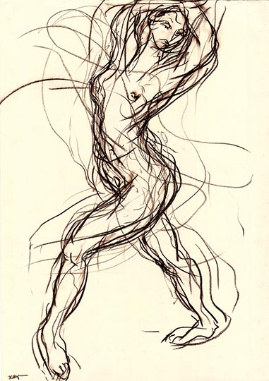 Dance Drawing DDW12
